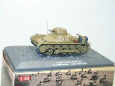 IXO ALTAYA 1:43, char PANZER I   libya  militaire ref: 93
