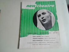 NEW THEATRE Vintage Magazine July 1947 Norman Marshall, Reece Pemberton + More