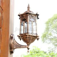 Outdoor Wall Light Garden Bronze Wall Lamp Bar Lighting Antique Walll Sconce  *