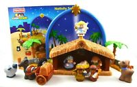 TESTED Fisher Price Little People INCOMPLETE MSNG 2 Nativity Set N6010 Musical