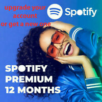 ✅SPOTIFY PREMIUM 12 MONTHS MEMBERSHIP🎵WARRANTY✅ INSTANT DELIVERY ✅WORLDWIDE🔥🔥