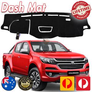 DASH MAT HOLDEN COLORADO RG MY17 LS-LT- LTZ- Z71 Aug/2016-19 HUD Black DM1443D