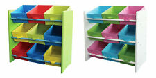 Children's Shelf Kids' Furniture Shelf Storage Toy Box Toy Box Nursery-Shelf
