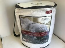 The Seasons Collection 600 Fill Power 500 TC Goose Down Comforter Twin NEW!