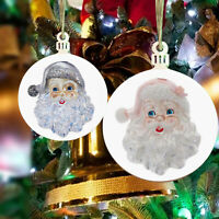 Christmas Tree Hanging Pendant Santa Claus Design Home Party Decor Ornament