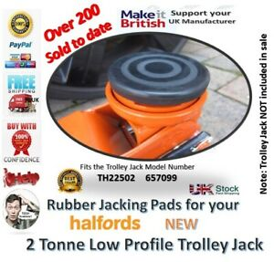 Halfords Low Profile Trolley Jack Model TH22502 - Jacking Pad 657099 classic