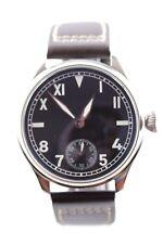 PARNIS Cuerda manual Reloj PILOTOS 44mm Seagull ST 3620 NUEVO DE OBSERVADOR