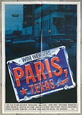 Affiche Allemande PARIS, TEXAS Nastassja Kinski WIM WENDERS Harry Dean Stanton *