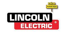 "Lincoln Electric Welder Replacement Decal/Sticker 3"" x 8.4"" Die Cut p67"