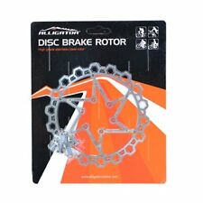 ALLIGATOR HK-R49-DIY Stealth Disc Brake Rotor , 140mm , Silver