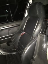BMW E36 M3 Coupe Front Sports Vader Black Leather Seat
