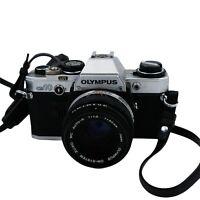 Olympus OM-10 35mm SLR Film Camera + Manual