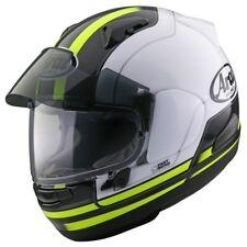 Arai QV-pro eperlán amarillo casco talla 55/56-s proshade casco integral nuevo parasol