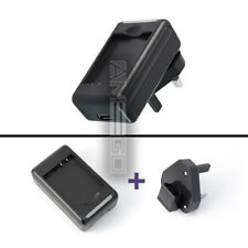 UK Universal Battery Charger with USB OUTPUT For Samsung Galaxy Ace 2 (GT-I8160)