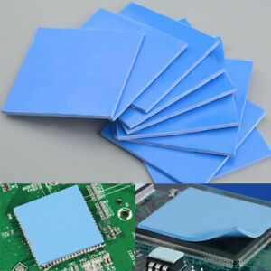 Sheet Reusable Soft CPU Cooling Not Cut Silicone Pad Heatsink Thermal Conductive
