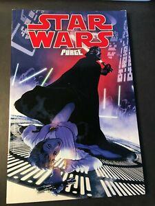 Star Wars Purge Darth Vader Comic Graphic Novel Dark Horse Adam Hughes Free Ship