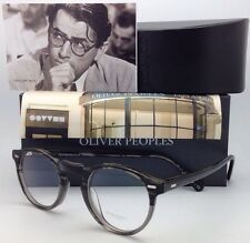 OLIVER PEOPLES Eyeglasses GREGORY PECK OV 5186 1002 45-23 Round Storm/Grey Frame