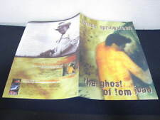 Bruce Springsteen The Ghost of Tom Joad Japan Promo only Book by Sony in 1996