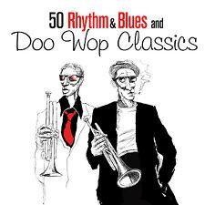 CD 50 Rhythm n Blues and Doo Wop Classics d'Artistes divers 2CDs