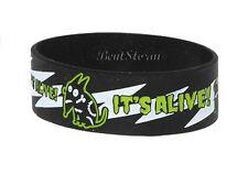 NEW Disney Tim Burton Movie Frankenweenie Sparky dog ITS ALIVE Rubber Bracelet