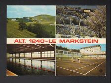 LE MARKSTEIN (68) HOTEL / CENTRE de VACANCES Piscine & Terrain de Tennis en 1976
