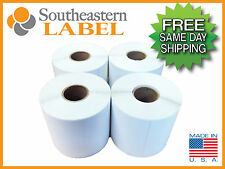 4x6 Direct thermal Zebra Eltron 4 rolls 400/roll 1,600 labels * FREE SHIPPING *