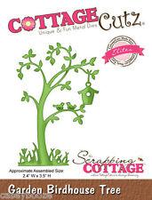 Cottage Cutz Elites Die - Garden Birdhouse Tree - CCE-103 - SALE PRICE