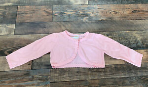 Gymboree Baby Girls Pink Cardigan Sweater Dressy Spring Easter Nwt Size 3-6 M