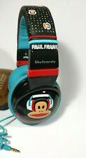 "Skullcandy Hesh PAUL FRANK Wired Monkey Audio Headphones- 1/8""- Black & Blue"