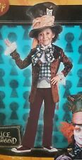 Deluxe Mad Hatter Disney Alice In Wonderland Boys Costume Medium Disguise 26628