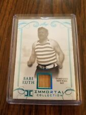 2017 Leaf Immortal Collection Babe Ruth GAME-USED BAT PATCH 7 /20