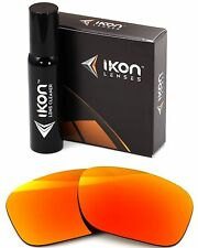 Polarized IKON Iridium Replacement Lenses For Oakley Necessity Fire Mirror