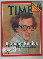 Time Magazine Woody Allen Comes Of Age April 30, 1979 061020nonr