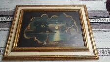 Vintage A MURPHY NEW YORK 1921 OIL Painting