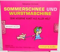 Sommerschnee und Wurstmaschine + Sebastian Cichocki + Hörbuch CD + 82 Minuten
