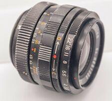 Soligor 35mm F3.5 T/T2 Universal Prime Lens & Miranda M44 Camera Mount