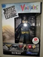 Vinimates DC Justice League Battle Damaged Batman  Figure Walgreens Exclusive