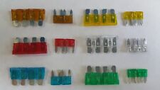New Car Blade fuses mini & standard 5 10 15 20 25 30 AMP 2 of each, Vauxhall