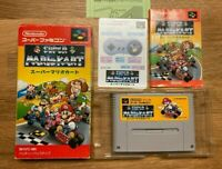 Super Mario Kart Nintendo Super Famicom SFC Japan Import SNES CIB - U.S. Seller