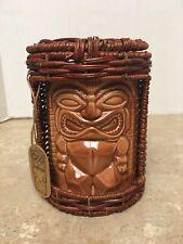 Love Tiki Coffee Mug with Handle and Basket Display Case