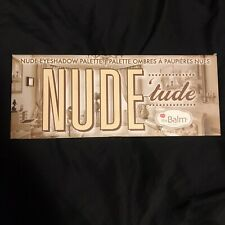 The Balm Cosmetics Nude 'Tude- Nude Eyeshadow Palette