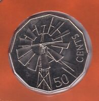 2002 Windmill Outback Australia 50 Fifty Cent UNC Uncirculated Coin ex UNC Set