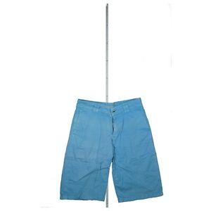 Drykorn Herren kurze Hose Short Sommer Capri Bermuda Golf stretch Gr. M W30 Blau