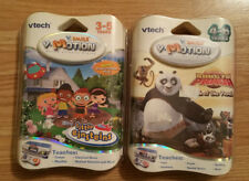 VTech V-Motion Little Einsteins and Kung Fu Panda Game Lot NEW