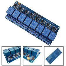 12V 8-Channel Relay Shield Module for Arduino UNO 2560 1280 ARM PIC AVR STM