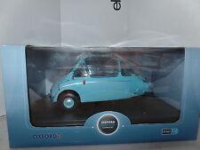Oxford 18HE001 HE001 1/18 escala Heinkel troyano Burbuja Coche Rhd romano azul