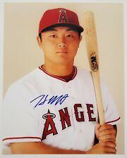 Hank Conger Signed 8x10 Photo MLB Los Angeles Angels Catcher RAD