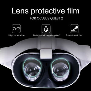 4x VR Lens TPU Soft Film Lens Protector HD Film For Oculus Quest 2 VR Glasses