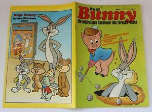 Bugs Bunny Comic Nr. 7 von 1972 mit TWEETY, DAFFY + ELMER etc - Willms Verlag