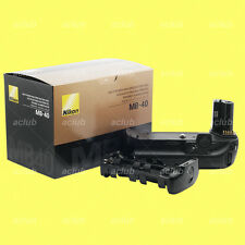 Genuine Nikon MB-40 Multi-Power Battery Pack Grip MB40 for EN-EL4 EN-EL4a F6